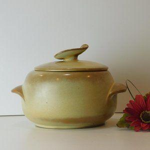 Frankoma Pottery Vintage Bean Pot 4V